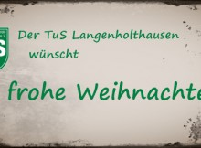 Foto: Der TuS Langenholthausen wünscht frohe Weihnachten!