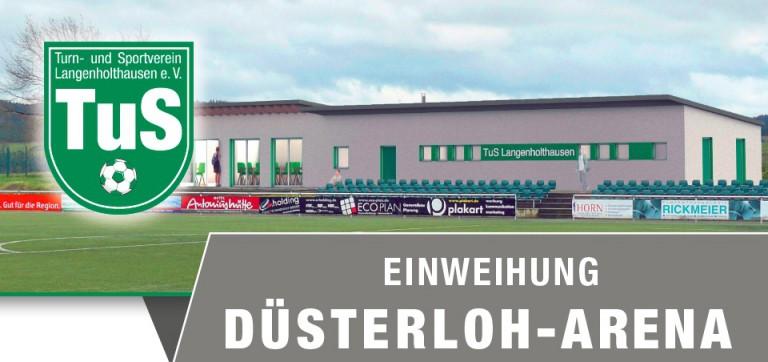 Einweihung der Düsterloh-Arena am 07.  Mai 2017.